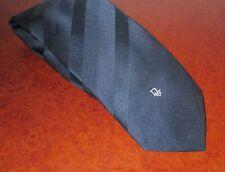 Vintage Christian Dior Tie - Navy Striped