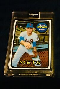 NOLAN RYAN 2020 TOPPS PROJECT BASEBALL #87 NEW YORK METS 1969 Ver. (Send Offer)!