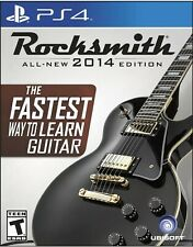 Rocksmith -- 2014 Edition (Sony PlayStation 4, 2014) Game & Real Tone Cable NEW