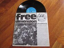 V.A. FREE DIMENSION LP ITALY PERIGEO BRAINTICKET LIVING MUSIC ITALIAN PROG PSYCH