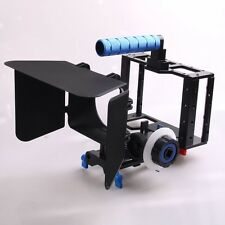 Camera Cage Rig+Follow Focus+Matte Box For Canon 5D2 5DIII 7D 70D NIKON DSLR
