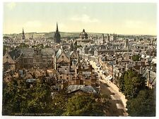 5 Victorian Views Oxford Christ Church Magdalen College Founders Tower OLD Photo