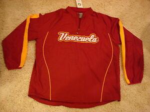 WBC / World Baseball Classic Venezuela Jersey Cool Base Gamer Jacket  ( XXL )