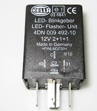 Hella LED Blinkgeber Blinkrelais 12V2+1+1 Flasher Unit Blinker Relais Kfz