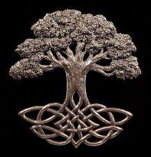 Wandrelief - Weltenbaum Yggdrasil - Axis Mundi Wand Deko - Wikinger Odin Thor