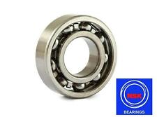 6202 15x35x11mm C3 TN9 Open Unshielded NSK Radial Deep Groove Ball Bearing