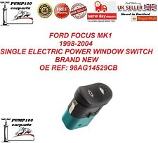 FORD FOCUS MK1 1998-2004 SINGLE ELECTRIC POWER WINDOW SWITCH 6 PIN 98AG14529CB