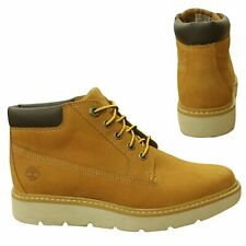 Timberland Kenniston Nellie Lace Up Wheat Leather Womens Chukka Boots A1GO4 B53E