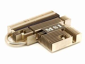 MSI 2600-A21 Nvidia Geforce 7600GS Video Card Dissipatore Passivo Gpu Cooler