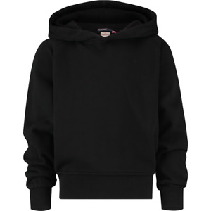 VINGINO Mädchen Pullover Sweatshirt G-BASIC-SWEAT-HOODY deep black