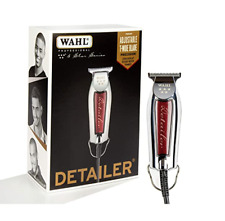 Wahl Professional 8081 5 Star Series Corded Detailer Trimmer Burgundy Barber