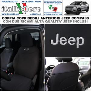 Maß Sitzbezüge Jeep Compass 2 Fahrer /& Beifahrer ab 2016 FB:MD504