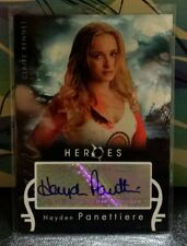 Heroes , Hayden Panettiere as Claire Bennet auto card