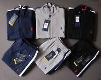 Polo Ralph Lauren Men Size S Tracksuit Sweat Track Pants Jacket Sweat Suit NEW
