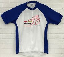 Voler Cycling Bike Jersey The Research Rough Riders MS 150 Mens Large 3/4 Zip
