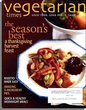 Vegetarian Times - 2007, November - A Thanksgiving Harvest Feast, Dry Cleaning