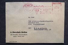DDR Firmen Stempel - 6.Oberschule Meißen - Brief /S7