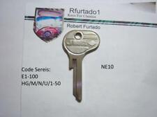 Key Blank for Borgward Isabella, Magirus-Deutz Ignition (see code series) NE10
