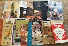 Vintage Lot Of 17 Liquor Wine Cocktail Recipes Pamphlets Cocktail Stirrs Spoons