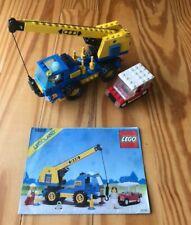 Lego 1489 Town Classic Mobile Car Crane 100% Compete Truck City Vintage Rare