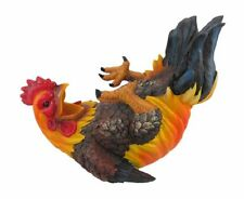 Happy Feet Rooster Wine Bottle Holder, New, Free Shipping