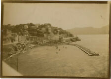 PHOTO ANCIENNE - VINTAGE SNAPSHOT - MARSEILLE CORNICHE ROUBION Vers 1900