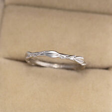925 Silver Wedding Engagement Jewelry Ring For Women Cubic Zirconia Ring Sz 6-10