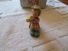 Hummel Goebel Figurine Girl with Trumpet , West Germany , Vintage , Collectible