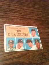 1961 Topps Don Drysdale #45 Friend McCormick Brogilo Williams ERA Leaders VG WOW