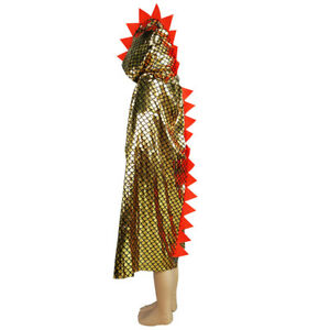 Dinosaur Cloak Witch Costume Child Cape Masquerade Halloween Cosplay UnisexProps