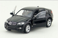 BMW X6 1:36 Model Cars Toys Open two doors Collection&Gifts Black Alloy Diecast