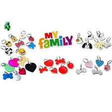 Medaglietta MY FAMILY Cane e Gatto con INCISIONE personalizzata con anellino