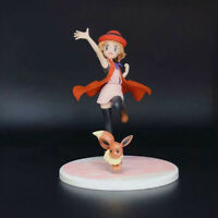 4.2'' Animation Toy Action Figures Serena & Eevee & Sylveon Christmas With Box