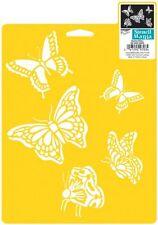 "Butterflies Stencil Mania Stencil 7""X10""   Delta Creative  NEW"