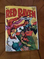 Red Raven Comics # 1  Golden Age Replica Edition Mint