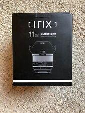 New Irix Blackstone 11mm f/4 wide angle Lens for Pentax K-mount - sturdy metal