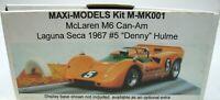 McLaren M6 Can-Am Laguna Seca 1967 #5 Denny Hulme 1/32 Resin Kit Maxi-Models