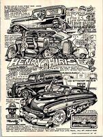 Dave Bell Art Comic Strip Henry Hirise Minnesota Mad-Man Hot Rod 1987 Cartoon
