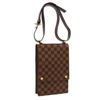 LOUIS VUITTON PORTOBELLO SHOULDER BAG VI0958 CLEAR POCKET DAMIER N45271 AK45594