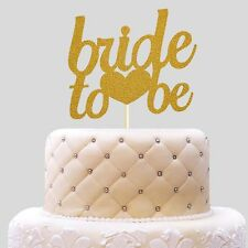 Bride To Be Glitter Wedding Cake Decoration Bridal Shower Cake Topper Decoration