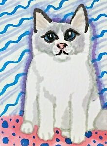 Ragdoll Sweetie Cat Art Print 4 x 6 | Collectible Artist KSams | Lilac-Point