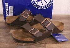 Birkenstock Arizona Birko-Flor Sandals Women's 7 Med Men's 5 Cork Shoes Brown 38