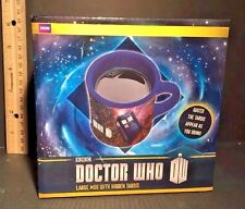 BBC Doctor Who LARGE MUG with HIDDEN TARDIS 12 oz. Ceramic Coffee Tea Cup NEW