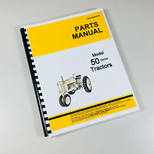 Parts Manual For John Deere 50 Gas Lp Tractor Catalog Exploded Views Assembly