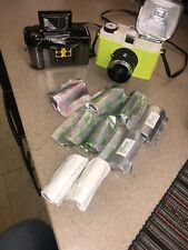 Lomography Diana F+ Medium Format Camera (Glow) & Lomography Camera 9 rolls film