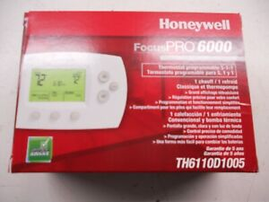 2 - HONEYWELL FOCUS PRO 6000 PROGRAMMABLE T-STAT'S NEW IN BOX