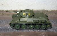 Char T-34/76 Tank - Maquette 1/76 1/72 Model  Peint Painted WWII WW2 - Matchbox