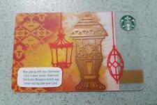 Starbucks Malaysia Card Ramadan Eid Mubarak 2017 very Rare Hari Raya Aidilfitri