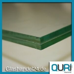 VSG Glas 10 mm 0,76 Folie klar ,Verbundglas, für Überdachung usw.