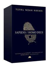""" Yuval Noah Harari Kutulu Set-Sapiens/Homo Deus ""Ciltli Turkce Kitap Yeni 2017"